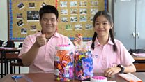 Paper cranes of hope for Thai cave rescue