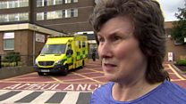 'We're looking out for cough, shortness of  breath and symptoms of chest pain'