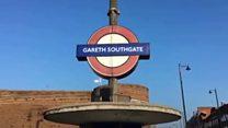 【サッカーW杯】ロンドンのサウスゲイト駅、ギャレス・サウスゲイトに一時改名