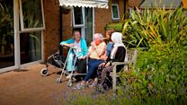 Young people befriending 'lonely' care home residents