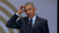 Obama: 'You have to believe in facts'