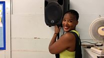 Woman fought postnatal depression with Zumba