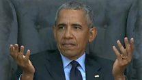 Can Obama dance better than Mandela?