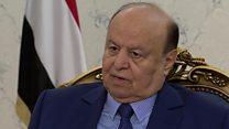 Yemen president defends Saudi-led strikes