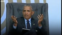 Kati ya Obama na Mandela nani mchezaji ngoma stadi zaidi?