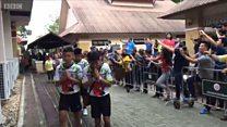 Đội bóng Thái nhí đã ra viện