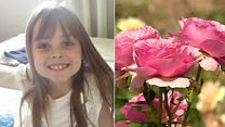 Rose created for youngest bomb victim