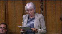 MP in tears in terminal illness speech