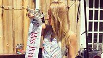 Why US beauty queen quit over #MeToo skit