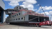 Attenborough ship gets its top decks