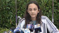 Girl describes New York shark attack