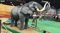Fans gather for UK's largest Lego event