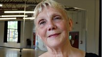 Dancer back at the barre after 20 years