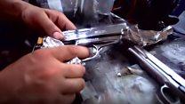 Llevar drogas para volver con armas: el tráfico ilegal en la frontera de México con Estados Unidos