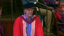 Sir Ranulph Fiennes on why he didn't deserve a law doctorate