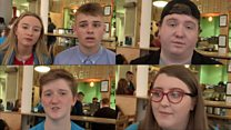 Young people react to prime minister visit