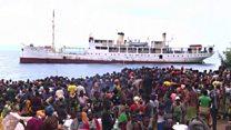 Le chemin du retour au Burundi.