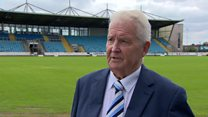 Club anger over football pitch damage