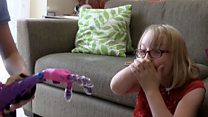 US student makes girl 3D arm