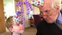 Boy, 4, befriends dementia patient, 91