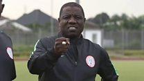Di film wey show as Nigeria football coach Salisu Yusuf dey collect cash