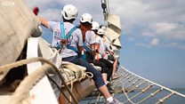 A teenager's week on board a Tall Ship