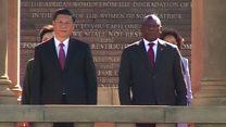 """Xi est en Afrique pour y """"consolider"""" l'ancrage de la Chine"""
