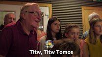 Ail recordio Titw Tomos Las ar gyfer Geraint Thomas