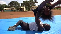 The disabled dancer inspiring Kenyans