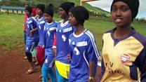 Kenyan girls' quest to transform their lives through sport