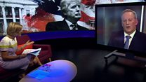 Testy BBC interview with former Trump spokesman