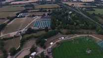 UK heatwave: How to water a showground