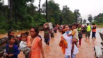 လာအို ဆည်ကျိုးမှု ၁၉ ဦးထက်မနည်း သေဆုံး