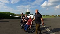 Meet the UK's first disabled air display team