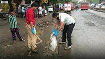 मुंबईच्या रस्त्यांवरचा मृत्यूचा सापळा