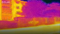 Thermal imagery of London in the heatwave