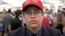 'It's tough being young and Republican'