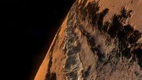 """اكتشاف """"مثير"""" لبحيرة مياه على سطح المريخ"""