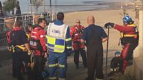 Search continues for boy missing off Clacton