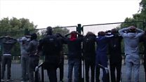 Drill music video stopped by armed police