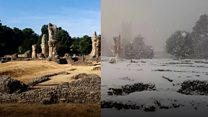 Weather extremes captured on camera