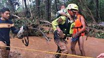 Laos dam collapse victims speak to BBC