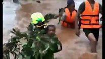 เขื่อนลาวแตก: บีบีซีคุยผู้ประสบภัยน้ำท่วม