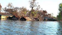 જ્યાં લોકો ખેતી કરતા હતા, ત્યાં હવે માછલી પકડે છે