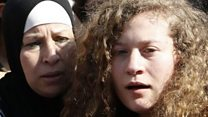 Ahed Tamimi released from prison