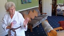 Meet the medal-winning 'Ninja Nan'