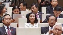 PGS - TS Phạm Quý Thọ nói rằng việc chống tham nhũng đang được nhân dân ủng hộ