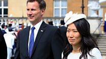 Jeremy Hunt makes wife nationality gaffe