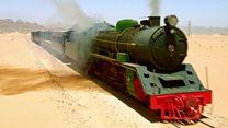Recreating an attack on the Hejaz Railway
