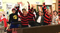 Beano's big boss quizzed by pupils